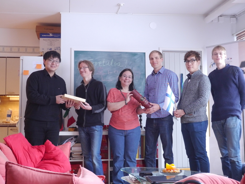 Gift-giving ceremony at Ubium