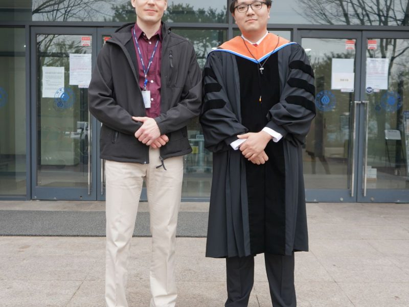 Dr. Laine and Dr. Seo
